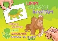 Lipim, coloram, invatam. Animale salbatice - 1