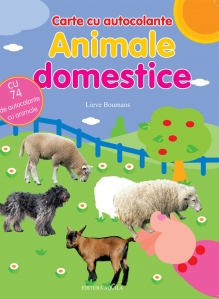 Carte cu autocolante. Animale domestice - 1