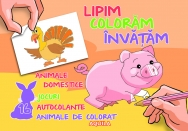 Lipim, coloram, invatam. Animale domestice - 1